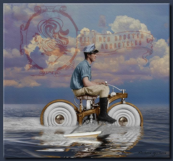 Red Rooster Aquacycle - Richard Gerhard