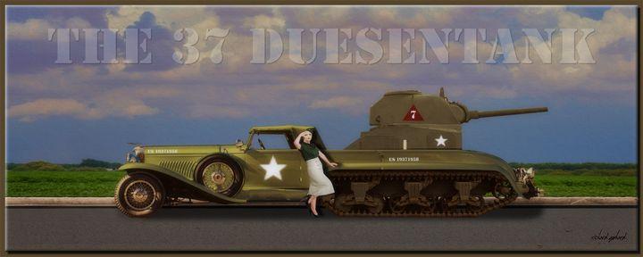 The 37 Duesentank - Richard Gerhard