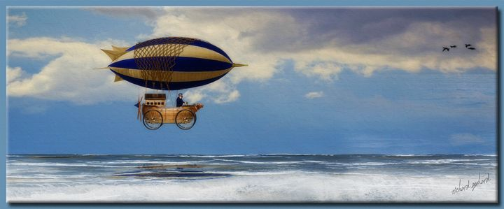 The Cheetah Blimp-O-Boat - Richard Gerhard