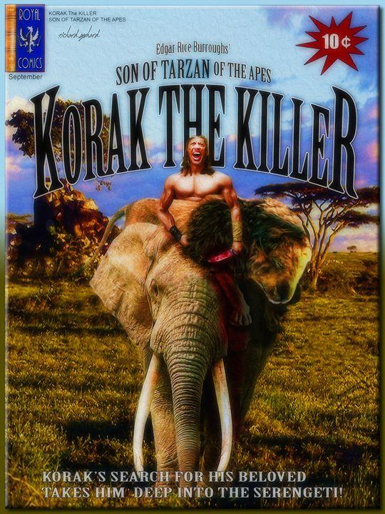 Korak the Killer - Richard Gerhard