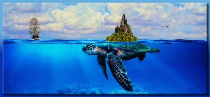 The Discovery of Tortugas Island - Richard Gerhard
