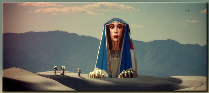 The Sphinx of the White Desert - Richard Gerhard