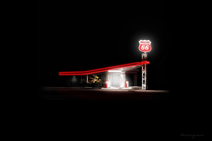 The Gas Station - Richard Gerhard
