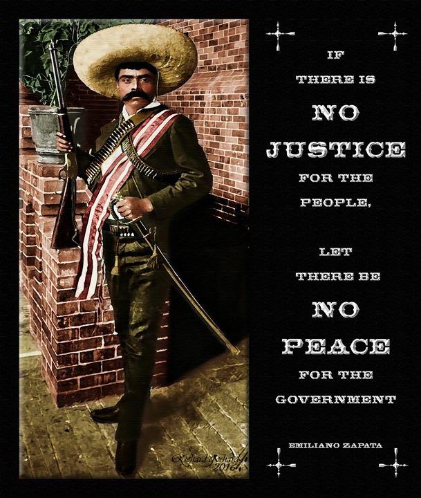 Emiliano Zapata - Richard Gerhard