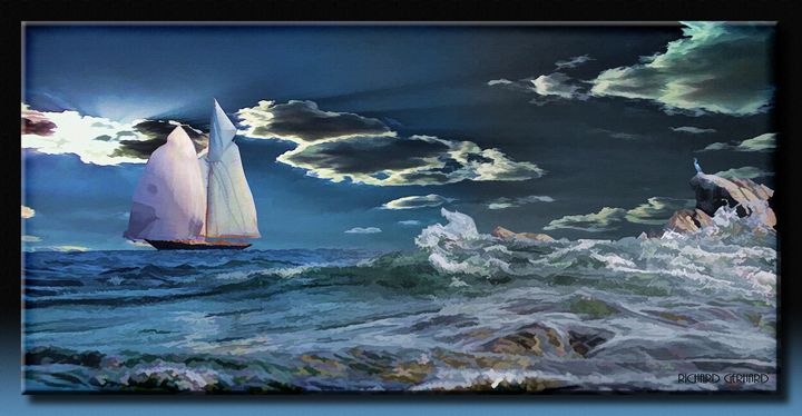Sailing By - Richard Gerhard