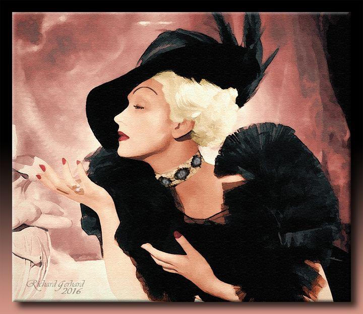 Marlene Dietrich 1937 - Richard Gerhard
