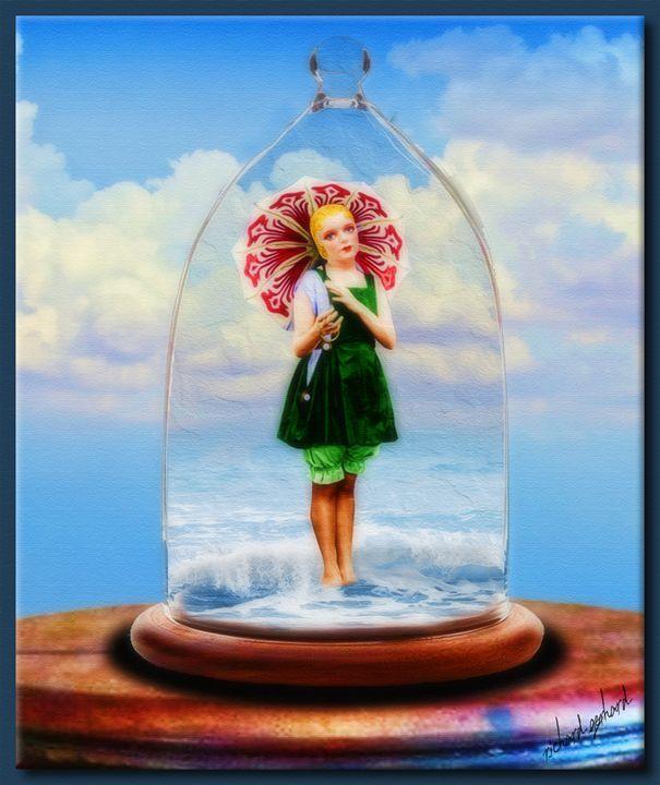 The Bathing Beauty Under Glass - Richard Gerhard