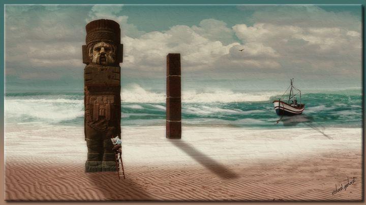 The Lost Idol of Aztelan - Richard Gerhard