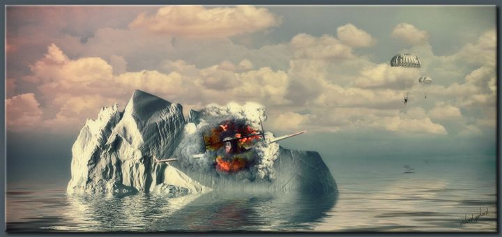 Crash in the North Atlantic - Richard Gerhard