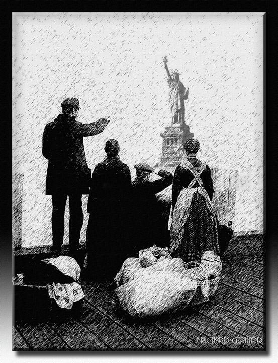 Ellis Island - Richard Gerhard