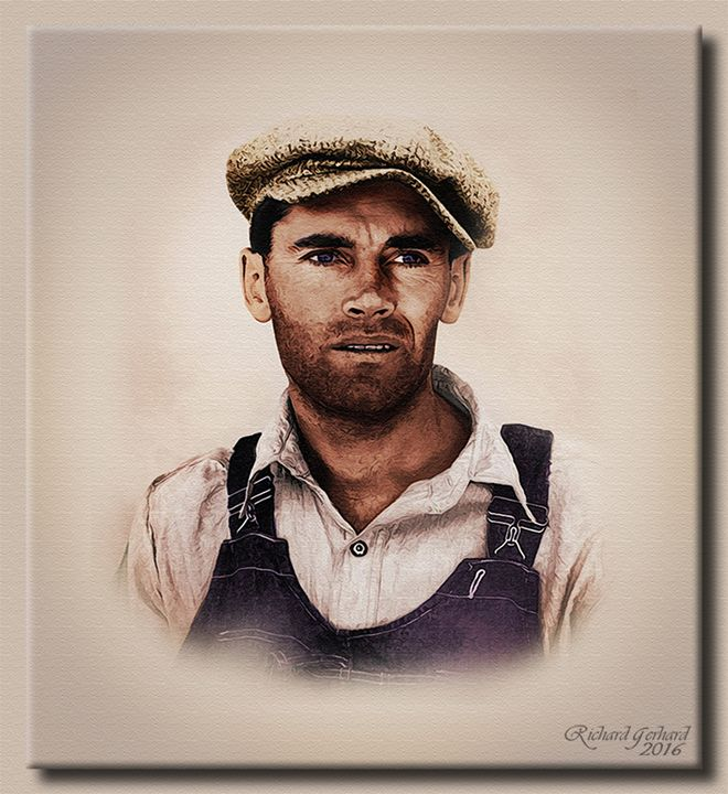 Henry Fona as Tom Joad - Richard Gerhard