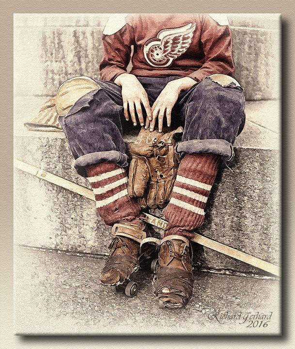 The Hockey Player - Richard Gerhard
