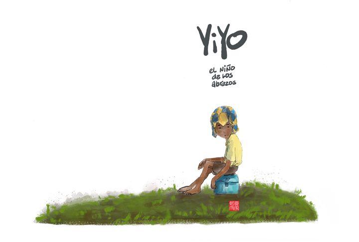 Yiyo book cover idea 2 - Ramon Veras