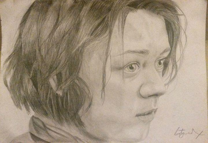 Arya Stark - Art by Kirsty Willcox