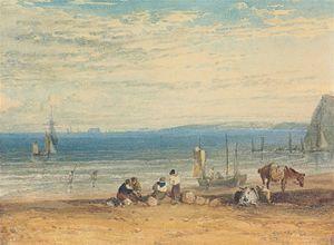 Babbacombe Bay from near Teignmouth
