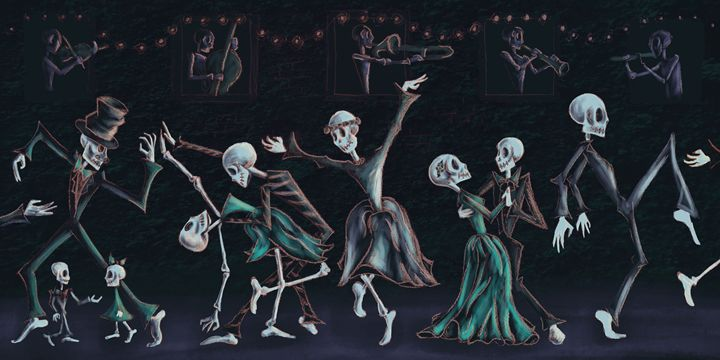 Dance the Night (Green) - Lillustration