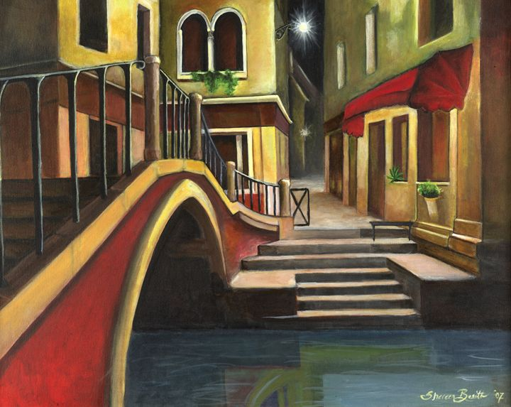 Venice at Night - Shereen Basith