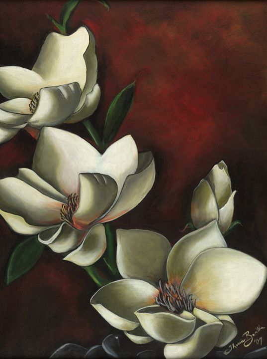 Magnolias - Shereen Basith