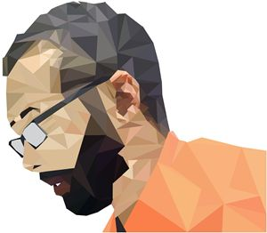 Polygon Self-Portrait