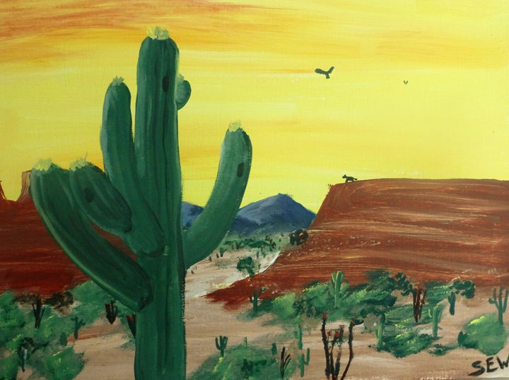 Sonoran Sunset - Inspired Art and Crafts