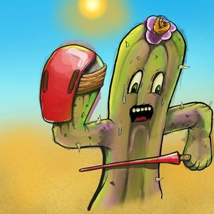 Fighting Cactus