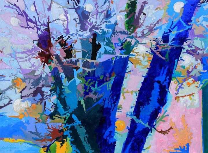Winter Orbit - Paintings by John Lautermilch