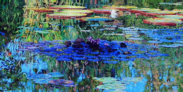 Beauty and Peace - Paintings by John Lautermilch