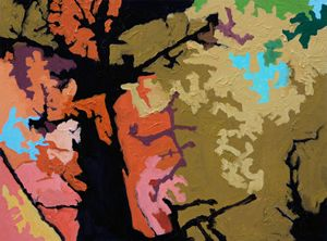 Autumn Trees #6 - Paintings by John Lautermilch