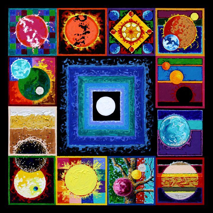 Sun Spots - Paintings by John Lautermilch