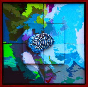 Tropical Fish #2 - B - Paintings by John Lautermilch