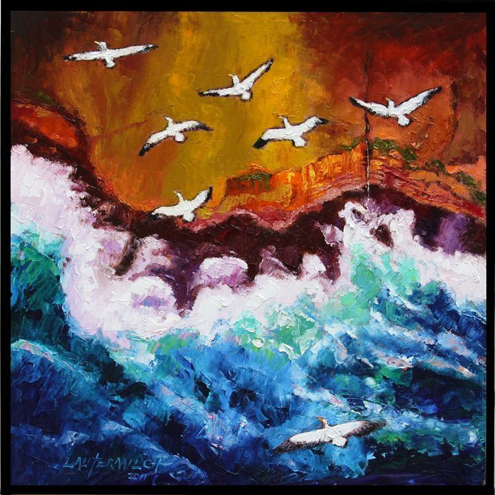 Freedom to Migrate - Paintings by John Lautermilch