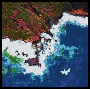 Flying Alone - Paintings by John Lautermilch
