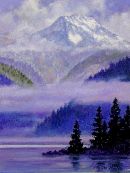 Sunlight Breaking Through - Paintings by John Lautermilch