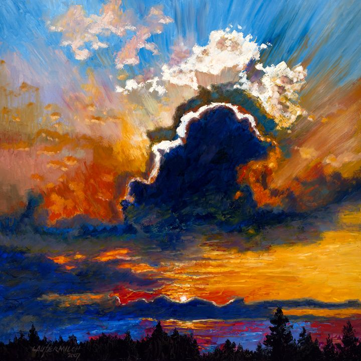 Some Glad Morning - Paintings by John Lautermilch