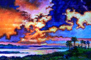 Dreaming of the Warmer State - Paintings by John Lautermilch