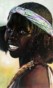 Black Beauty - Paintings by John Lautermilch