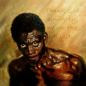 Free At Last - Paintings by John Lautermilch