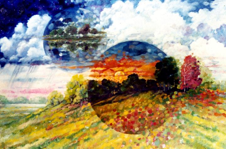 Memories of Earth - Paintings by John Lautermilch