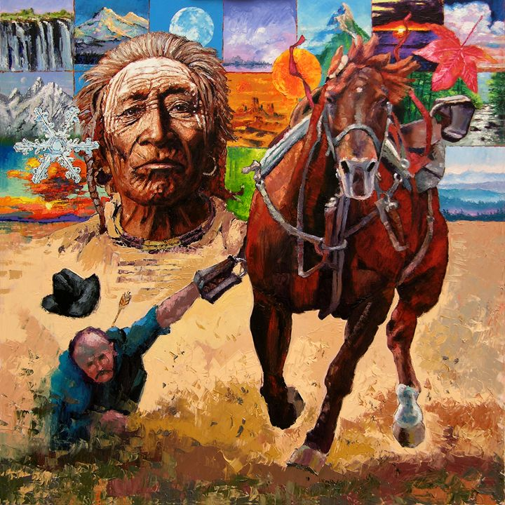 Stolen Land - Paintings by John Lautermilch