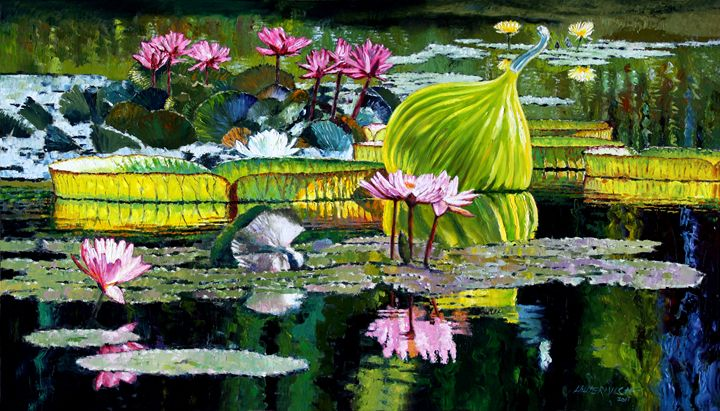 Memories of Beauty - Paintings by John Lautermilch