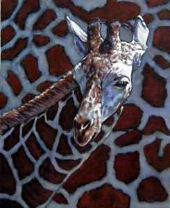 Giraff - Paintings by John Lautermilch