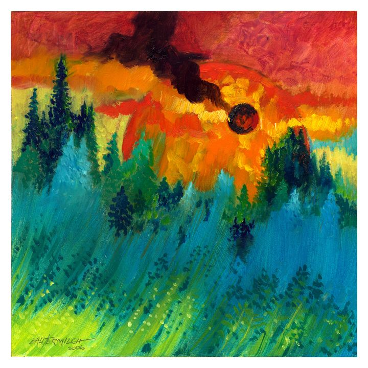 Final Sunset - Paintings by John Lautermilch