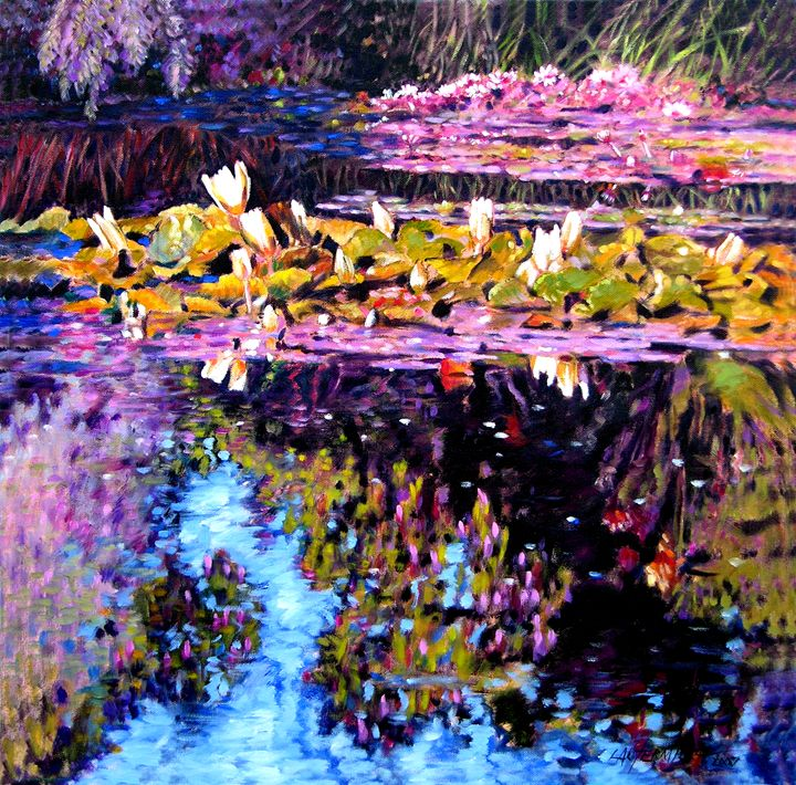 Sunny Day Impressions - Paintings by John Lautermilch
