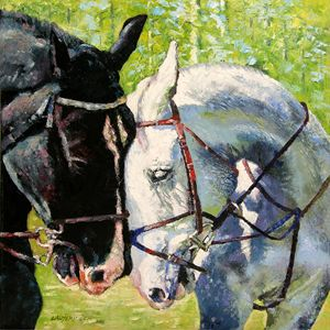 Bridled Love - Paintings by John Lautermilch