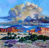 Rain Clouds over Painted Desert