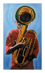 Make A Joyful Noise - Paintings by John Lautermilch