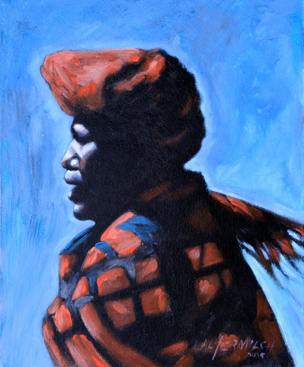 Facing the Wind - Paintings by John Lautermilch