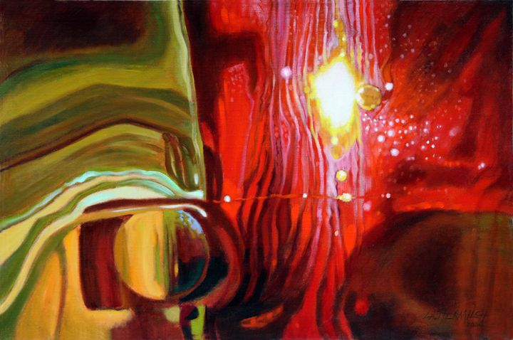 Abstract 37-2004 - Paintings by John Lautermilch