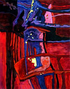Abstract 52-2004 - Paintings by John Lautermilch