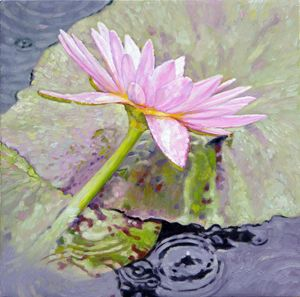 Pastel Beauty 25-2008 - Paintings by John Lautermilch